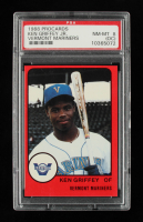 Ken Griffey Jr. 1988 Vermont Mariners ProCards #NNO (PSA 8) (OC) at PristineAuction.com