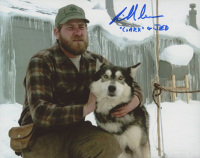 """Richard Masur Signed """"The Thing"""" 8x10 Photo Inscribed """"'Clark' or Jed"""" (AutographCOA COA) at PristineAuction.com"""