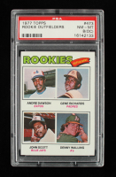 1977 Topps #473 Rookie Outfielders / Andre Dawson RC / Gene Richards RC / John Scott / Denny Walling RC (BCCG 10) at PristineAuction.com