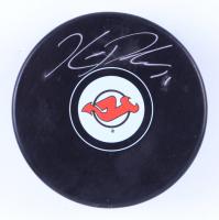 Kyle Palmieri Signed Devils Logo Hockey Puck (Palmieri COA & YSMS Hologram) at PristineAuction.com
