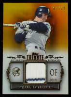 Paul O'Neill 2013 Topps Tribute Retired Remnants Relics Gold #PO #7/15 at PristineAuction.com