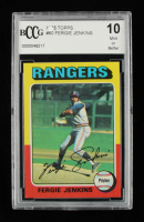 Fergie Jenkins 1975 Topps #60 (BCCG 10) at PristineAuction.com