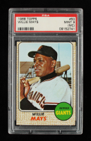 Willie Mays 1968 Topps #50 (PSA 9) (MC) at PristineAuction.com