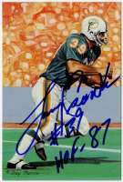 """Larry Csonka Signed LE Dolphins """"Hall of Fame"""" 4x6 Postcard Inscribed """"HOF 87"""" (PSA COA) at PristineAuction.com"""