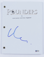 "Matt Damon Signed ""Rounders"" Movie Script (Beckett COA) at PristineAuction.com"