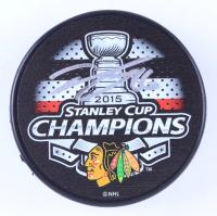 Teuvo Teravainen Signed Blackhawks 2015 Stanley Cup Champions Logo Hockey Puck (Teravainen COA & YSMS Hologram) at PristineAuction.com