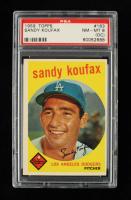 Sandy Koufax 1959 Topps #163 (PSA 8) at PristineAuction.com