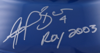 "Angel Berroa Signed Royals Full-Size Batting Helmet Inscribed ""ROY 2003"" (Schwartz Sports COA) at PristineAuction.com"