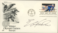 """Eric Heiden Signed """"Winter Olympic Games Stamps"""" 1980 FDC Envelope (JSA COA) at PristineAuction.com"""