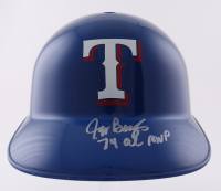 "Jeff Burroughs Signed Rangers Full-Size Batting Helmet Inscribed ""74 AL MVP"" (Schwartz Sports COA) at PristineAuction.com"