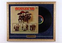 "The Beatles ""Beatles '65"" 18x22 Custom Framed Vintage Vinyl Album Display at PristineAuction.com"