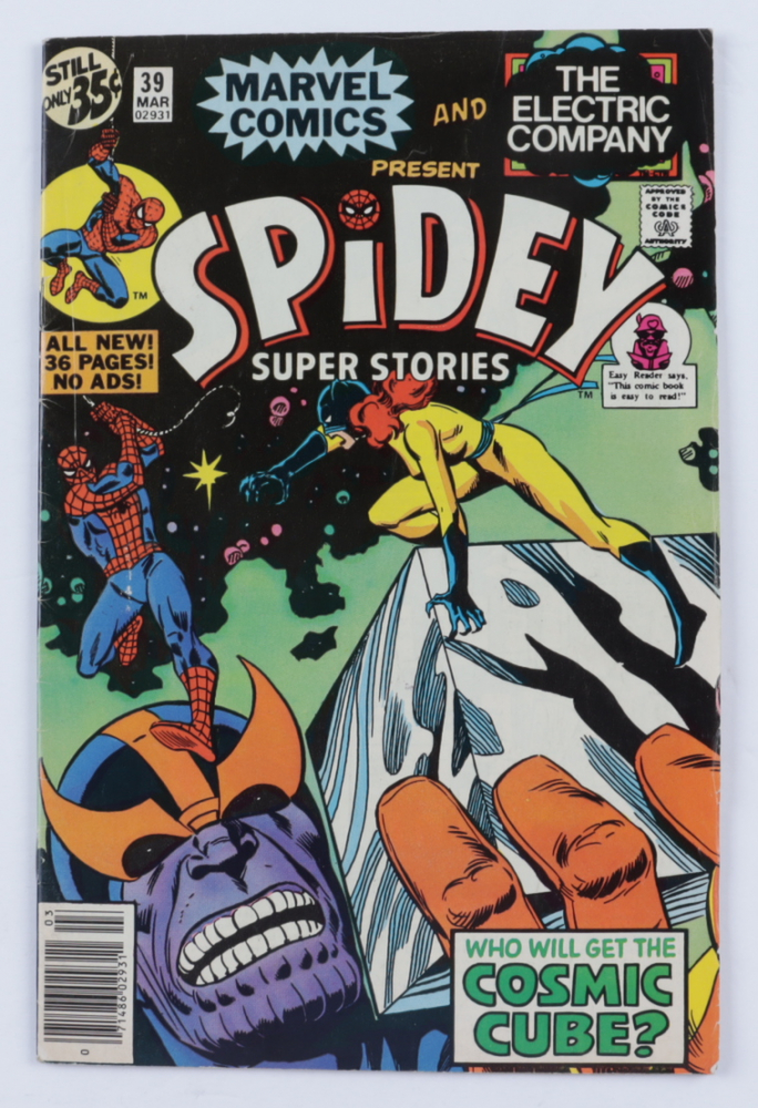 """1979 """"Spidey Super Stories"""" Issue #39 Marvel Comic Book at PristineAuction.com"""