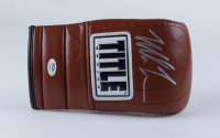 Mike Tyson Signed Title Leather Boxing Glove (PSA COA) at PristineAuction.com