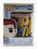 Joey Fatone Signed NSYNC #114 Funko Pop! Vinyl Figure (JSA COA) (See Description) at PristineAuction.com