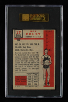 Bob Cousy 1957-58 Topps #17 DP RC (SGC 5) at PristineAuction.com