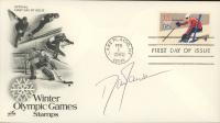 "Dan Jansen Signed ""Winter Olympic Games Stamps"" 1980 FDC Envelope (JSA COA) at PristineAuction.com"