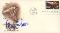 """Mary Lou Retton Signed """"1988 Summer Olympics"""" 1988 FDC Envelope (JSA COA) at PristineAuction.com"""