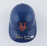 """Darryl Strawberry Signed Mets Full-Size Batting Helmet Inscribed """"86 WS Champs"""" (PSA COA) (See Description) at PristineAuction.com"""