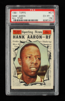 Hank Aaron 1961 Topps #577 All-Star (PSA 6) (MC) at PristineAuction.com