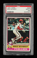 Mike Schmidt 1976 Topps #480 (PSA 9) (PD) at PristineAuction.com