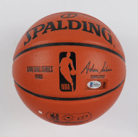 Allen Iverson Signed NBA Game Ball Series Basketball (Beckett Hologram) at PristineAuction.com