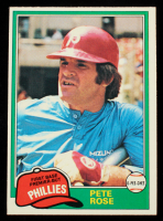 Pete Rose 1981 O-Pee-Chee #180 at PristineAuction.com