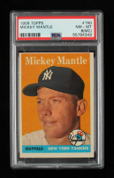 Mickey Mantle 1958 Topps #150 (PSA 8) (MC) at PristineAuction.com