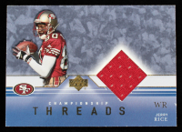 Jerry Rice 2001 Upper Deck Championship Threads #CTJR at PristineAuction.com