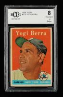 Yogi Berra 1958 Topps #370 (BCCG 8) at PristineAuction.com