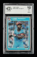 Kirby Puckett 1985 Fleer #286 RC (BCCG 10) at PristineAuction.com