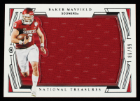 Baker Mayfield 2020 Panini National Treasures Collegiate #43 Jersey #66/98 at PristineAuction.com