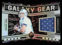 Troy Aikman 2019 Panini Obsidian Galaxy Gear Materials #29 #036/100 at PristineAuction.com