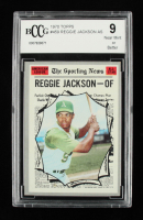 Reggie Jackson 1970 Topps #459 All-Star (BCCG 9) at PristineAuction.com