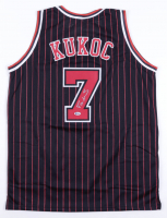 Toni Kukoc Signed Jersey (Beckett Hologram) at PristineAuction.com