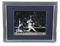 Reggie Jackson Signed 13x16 Custom Framed Photo (Beckett COA) at PristineAuction.com