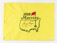 """Gary Player Signed 2018 Masters Tournament Pin Flag Inscribed """"61 74 78"""" (JSA COA) at PristineAuction.com"""