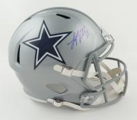 Leighton Vander Esch Signed Cowboys Full-Size Speed Helmet (Beckett COA & Denver Autographs COA) at PristineAuction.com