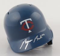 Byron Buxton Signed Twins Mini Batting Helmet (Beckett Hologram) at PristineAuction.com