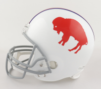 "O.J. Simpson Signed Bills Full-Size Helmet Inscribed ""H.O.F 85"" (JSA COA) at PristineAuction.com"