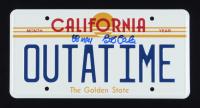 "Bob Gale Signed ""Back to the Future"" License Plate Inscribed ""88 MPH"" (AutographCOA COA) at PristineAuction.com"