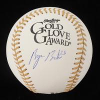 Byron Buxton Signed OML Gold Glove Award Logo Baseball (Beckett Hologram) at PristineAuction.com