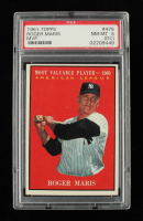 Roger Maris 1961 Topps #478 Most Valuable Player (PSA 8) (OC) at PristineAuction.com