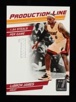 LeBron James 2010-11 Donruss Production Line Materials #85 #078/399 at PristineAuction.com
