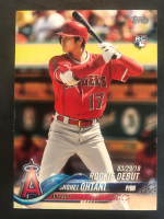 Shohei Ohtani 2018 Topps Update #US285 RD RC at PristineAuction.com