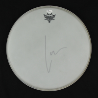 """Lars Ulrich Signed 12"""" Drumhead (JSA COA) (See Description) at PristineAuction.com"""