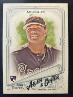 Ronald Acuna Jr. 2018 Topps Allen and Ginter #207 RC at PristineAuction.com