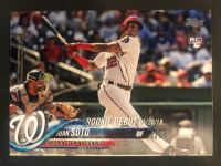 Juan Soto 2018 Topps Update #US104 RD at PristineAuction.com