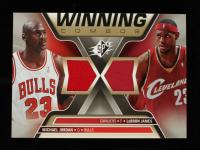 Michael Jordan / LeBron James 2006-07 SPx Winning Combos #WCJJ at PristineAuction.com