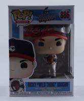 "Charlie Sheen Signed ""Major League"" #886 Ricky ""Wild Thing"" Vaughn Funko Pop! Vinyl Figure (PSA COA) (See Description) at PristineAuction.com"