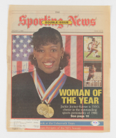 Jackie Joyner-Kersee Signed Sporting News Newspaper Cover (PSA COA) (See Description) at PristineAuction.com
